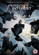 Person of Interest Complete Series Collection 1-4 DVD Box Set Season 1 2 3 4 UK
