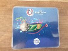 2 Euros Commémorative BU France 2016 UEFA - Coincard Officielle
