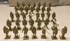 Marx Toys Presidents Of The United States, Set Of 36 , Washington To Nixon.