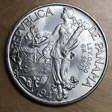 Panama 1947 Balboa; KM-13; UNC (#x1266)