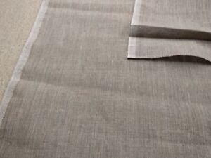 100% linen fabric Medium 180gsm Natural undyed flax European fashion clothing
