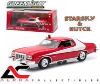 "GREENLIGHT 86442 1:43 1976 FORD GRAN TORINO ""STARSKY AND HUTCH"" TV SERIES"