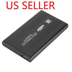 """External Backup Hard Drive Case USB 3.0 Enclosure 2.5"""" Portable HDD Sata SSD"""