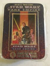 1995 Star Wars Dark Empire Embossed Metal Collector Cards Tin Set Factory Sealed