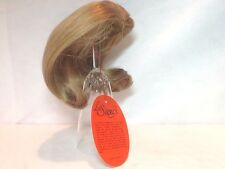 "VINTAGE LA SIOUX COLLECTION BLONDE DOLL HAIR WIG ~LS3024~ SIZE 6"" - 7"" NOS"