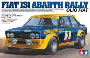 Tamiya 20069 1/20 Scale Model Sports Car Kit Olio Fiat 131 Abarth Rally WRC '77