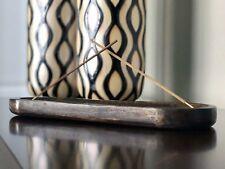 Nirvana-Class 11.5 Inch Indian Art Double Stick Incense Burner Fragrances