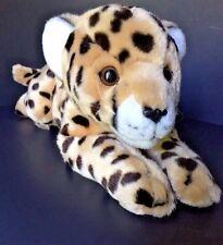 """Stuffed Baby Cheetah Leopard Animal Alley Plush 17"""" Soft Cuddly"""