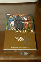 Black Panther Civil War Marvel Autographed TPB Reginald Hudlin High grade