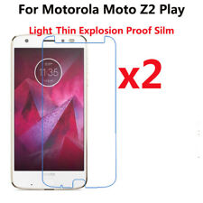 2 PACK Soft PET Cover Explosion Proof Screen Protector For Motorola Moto Z2 Play