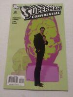 Superman Confidential #3 March 2007 DC Comics Cooke Sale