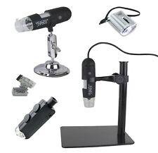Quality Optics USA Lighted Microscope Collection Pocket Digital CLARITY 45-100X