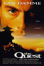 THE QUEST (1996) ORIGINAL MOVIE POSTER  -  ROLLED