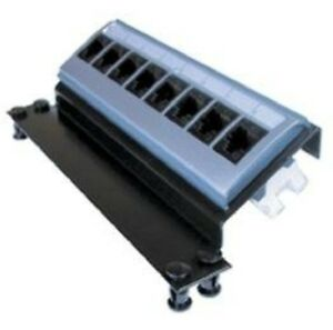 Clipsal CAT-6 DATA PATCH PANEL CLI3105APP8/6 8-Port RJ45 Connector, Angled