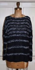 Talbots~NWT~NAVY BLUE NAUTICAL striped sweater~2X~R$109