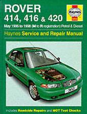 Rover 400 Series (95-98) Service and Repair Manual, Haynes Manuals