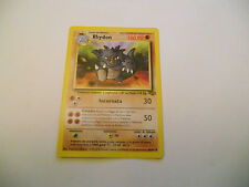 POKEMON CARDS: 1x TCG Rhydon-Jungle-NON Comune-45/64-ITA Italiano x1