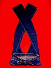 LEVI'S 584 STRETCHJEANS 519 525 529 DARK BLUE DENIM W27 L32 NEU !!! TOP !!!
