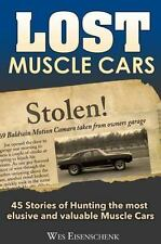 Lost Muscle Cars Book~Superbird~Yenko~Shelby~Road Runner~Cuda~Nova~Z28~NEW HC