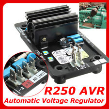 AVR R250 Automatic Voltage Regulator Replacement Black for Leroy Somer Generator