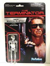 Funko Reaction Terminator T800 Endoskeleton Chrome Vintage Retro Figure