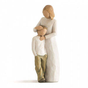 DEMDACO Willow Tree  Mother and Son / Mutter und Sohn  - Höhe: ca. 21 cm - 26102