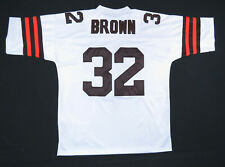 Jim Brown Cleveland Browns 1964 Mitchell & Ness Throwback Sewn Football Jersey