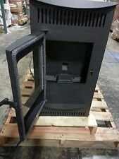 12327 Castle's Serenity Wood Pellet Stove House Home Mfg Refurbs Read The Ad