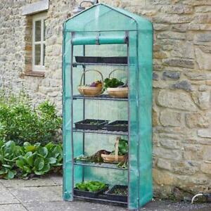 Smart Garden GroZone 5 Tier Tomato Grow House Vegetable Greenhouse Green House