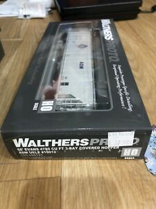 D1) Walthers Proto 58' Evans 4780 CU FT 3 Bay Covered Hopper ADM UELX 10012 New