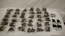 Vintage Amerock Style Cupboard Hinges with screws 39 sets