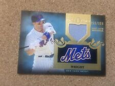 David Wright 2011 Topps Tier One Relic Game Worn Jersey 356/399 New York Mets