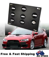 Front Bumper Tow Hook License Number Plate Mount Bracket For BMW Plate Mount AU