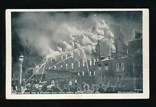 Middlesex HARROW School Fire Mr Somervelle's house Used 1908 PPC