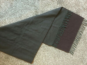 Gorgeous used  Soft Luxury purple mix Dunhill cashmere scarf