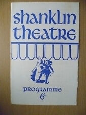 SHANKLIN THEATRE PROGRAMME 1969- THE AMOROUS PRAWN by ANTHONY KIMMINS
