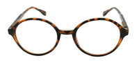NWT Round Retro Reading Glasses Tours Vintage Style Spring Hinge Frame