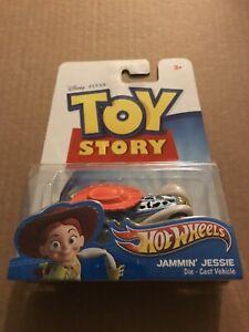 2011 Mattel Disney Pixar Hot Wheels Toy Story JAMMIN JESSIE Die-Cast Vehicle HTF
