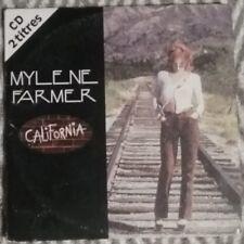 RARE CD SINGLE MYLÈNE FARMER CALIFORNIA 1996 BE+ FRANCE PRESS