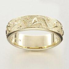 Scottish Ola Gorie 925 Silver Stroma Wedding Ring