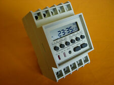 Twin Channel Output DIN Rail Programmable Timer Switch (TM-812)