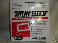RV Truck Boot  window PASS-THROUGH Camper Shell NEW lg