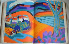 Ambrogiani Sarah des sables 18 lithographies Dédicace Lacydon Rél cuir Numeroté