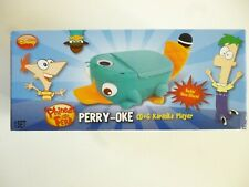 Disney Perry The Platypus Karaoke CD Player w/ Microphone  Phineas & Ferb