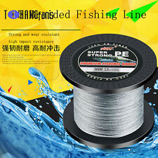 HOLLOW FLY FISHING FLY LINE BRAIDED TERYLENE BACKING 25lb B.S 75 metres OLIVE