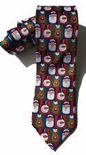 John Ashford NEW Red Slim Holiday Christmas Men's Neck Tie $49 A3236