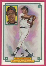 1984 Donruss Champions # 43 Frank Robinson -- Baltimore Orioles
