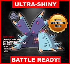 Pokemon Sword/Shield Ultra Shiny Battle Ready Toxapex FAST DELIVERY