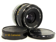 CANON FD 35MM F3.5 S.C. WIDE ANGLE LENS *NEAR MINT CONDITION*