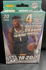 Panini 2019-20 Mosaic NBA Basketball Trading Cards, Hanger Box 20 Cards Zion Ja